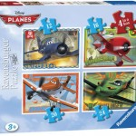 Planes 4 in 1 puzzel